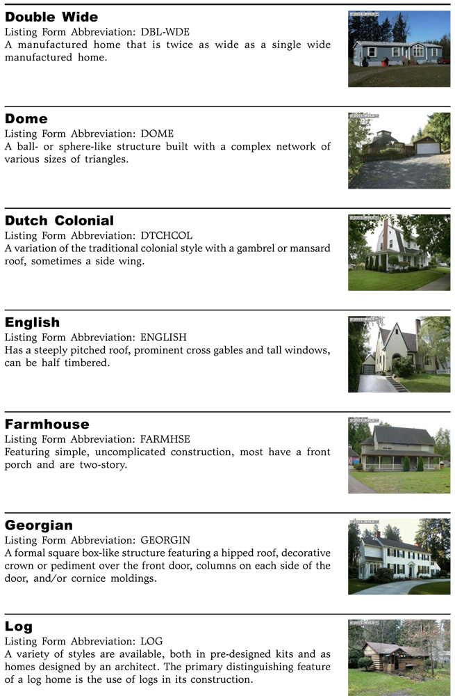 English house style characteristics